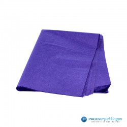Zijdepapier - Donkerpaars-voorkant