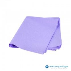 Zijdepapier - Lila-voorkant