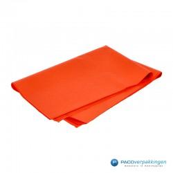 Zijdepapier - Oranje-zijkant
