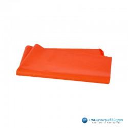 Zijdepapier - Oranje-achterkant