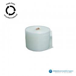 Noppenfolie - Transparant - 100% Gerecycleerd - Vooraanzicht