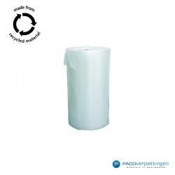 Noppenfolie - Transparant - 100% Gerecycleerd- Vooraanzicht