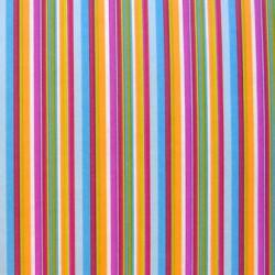 Inpakpapier - Strepen - Multikleur  (Nr. 1023) - Close-up
