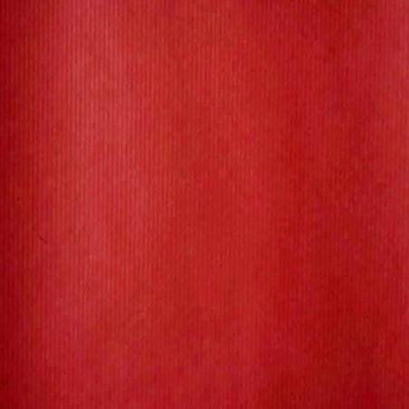 Inpakpapier - Effen - Rood met bruin kraft (Nr. 1502)