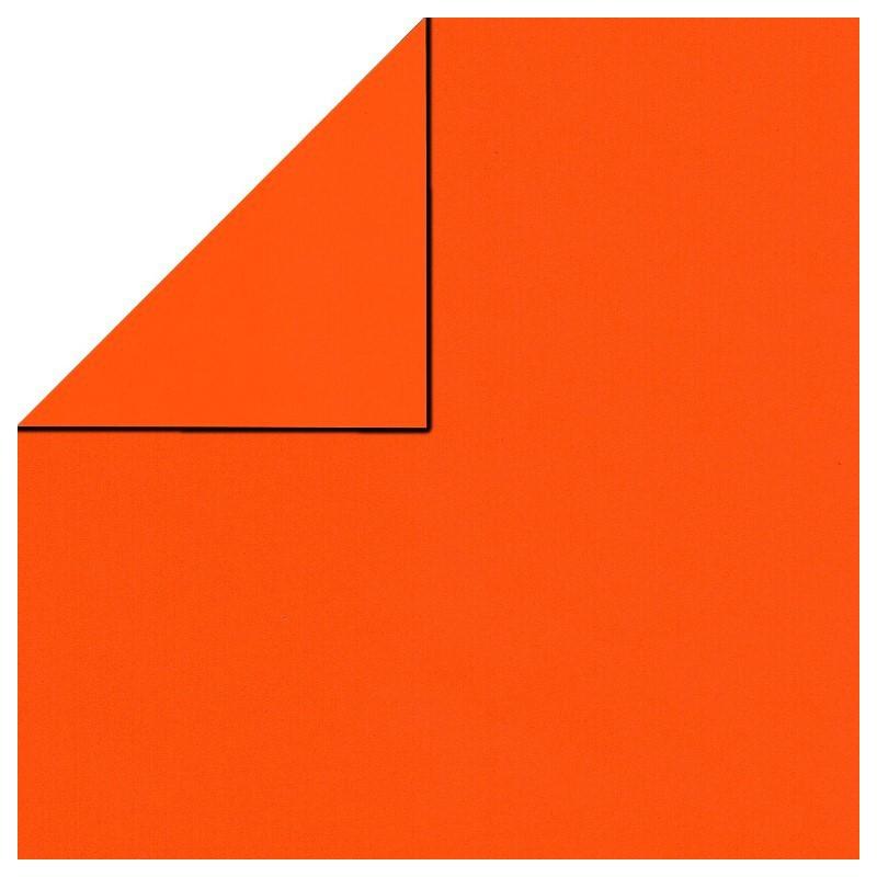 Inpakpapier - Effen - Oranje (Nr. 1707) - Close-up