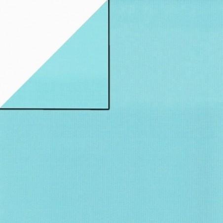 Inpakpapier - Effen - Lichtblauw (Nr. 1717)