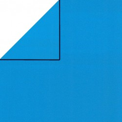 Inpakpapier - Effen - Blauw (Nr. 1718) - Close-up