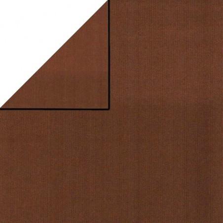 Inpakpapier - Effen - Bruin (Nr. 1731)