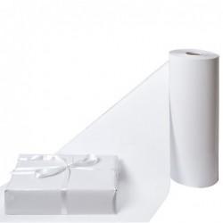 Inpakpapier - Effen - Wit glossy  - Detail