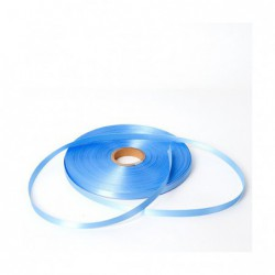 Satijn lint - Baby Blauw - Vooraanzicht
