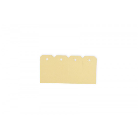 Manilla labels - Beige - Nr. 4