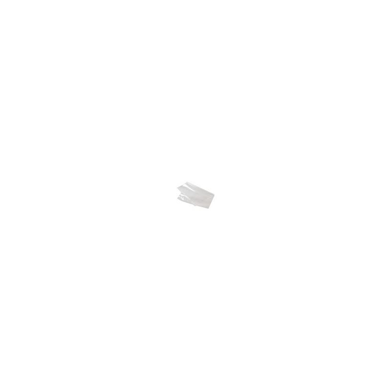 Plastic zakken zijvouw - 70 MU - Transparant - Vooraanzicht