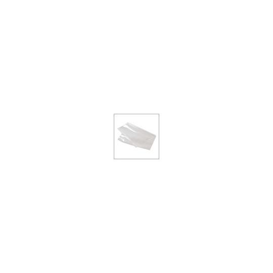 Plastic zakken zijvouw - 50 MU - Transparant