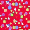 Inpakpapier - Balonnen - Rood (Nr. 1206) - Close-up