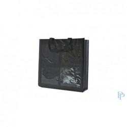 Boodschappentassen - Zwart - 4 Vakken - Zijaanzicht