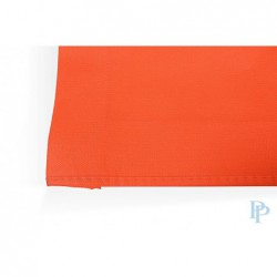 Non Woven Tassen - Oranje - Lange hengsels - Detail