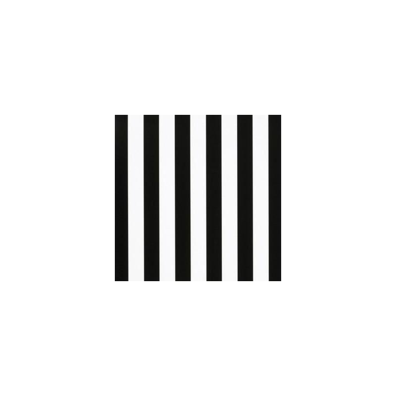 Inpakpapier - Strepen - Zwart op wit (Nr. 3226) - Close-up