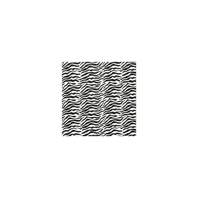 Inpakpapier - Zebra - Zwart op wit (Nr. 1025) - Close-up