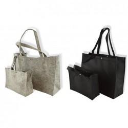 Vilten tassen - Zwart - Collectie