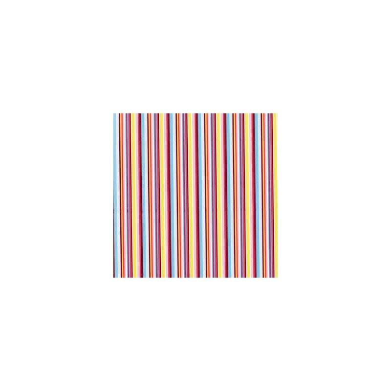 Inpakpapier - Strepen - Multikleur (Nr. 3018) - Close-up