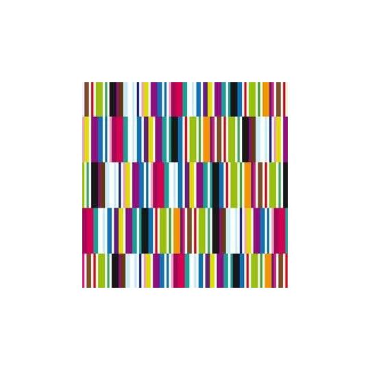 Inpakpapier - Strepen - Multikleur (Nr. 3204)