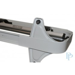 Papierrolhouder - Tafelmodel (Kartelmes) - Grijs - Detail