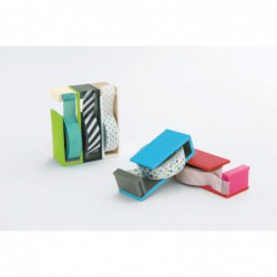 Masking Tape Magnetic Cutter - 2Tone - Blue X Gray - Collectie