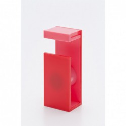 Masking Tape Magnetic Cutter - 2Tone - Red X Pink - Zijaanzicht