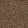 Inpakpapier - Luipaard - Bruin met zwart (Nr. 1515) - Close-up
