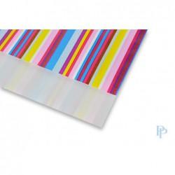 Papieren zakjes - Strepen gekleurd - Nr.3018 - Detail