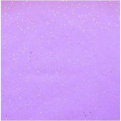 Zijdepapier - Edelsteen - Zilver op lila - Close-up