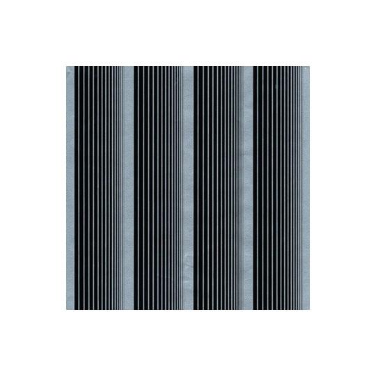 Inpakpapier - Strepen - Zwart op zilver (Nr. 3012)