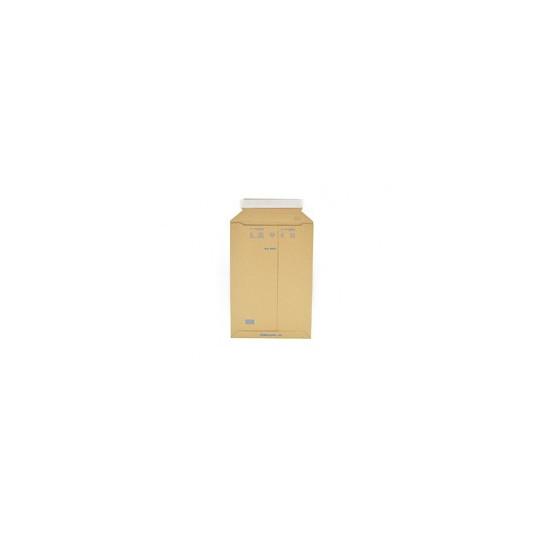 Kartonnen enveloppen met plakstrip - Bruin - Nr. 10