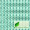 Inpakpapier - Stippen - Wit op groen (Nr. 123) - Close-up