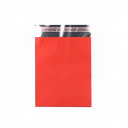 Cadeauzakjes folie - Rood Mat - Vooraanzicht