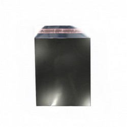 Cadeauzakjes folie - Zwart - Vooraanzicht