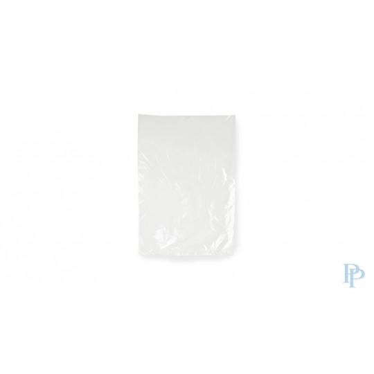 Plastic zakken vlak - 25 MU - Transparant