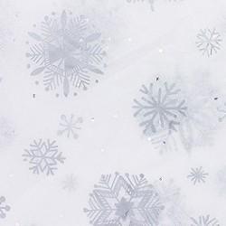 Zijdepapier - Sneeuwvlokken - Diamant - Close-up