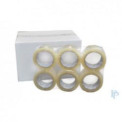 Verpakkingstape - Transparant - Dubbele lijmlaag - Doos