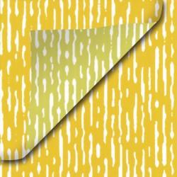 Inpakpapier - Strepen - Goud en geel (Nr. 932) - Close-up