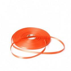 Satijn lint - Oranje - Vooraanzicht