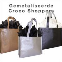 shoppers krokodil dessin bedrukken