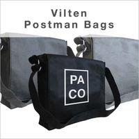 Vilten postmanbag bedrukken
